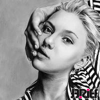 Scarlett Johansson by riefra