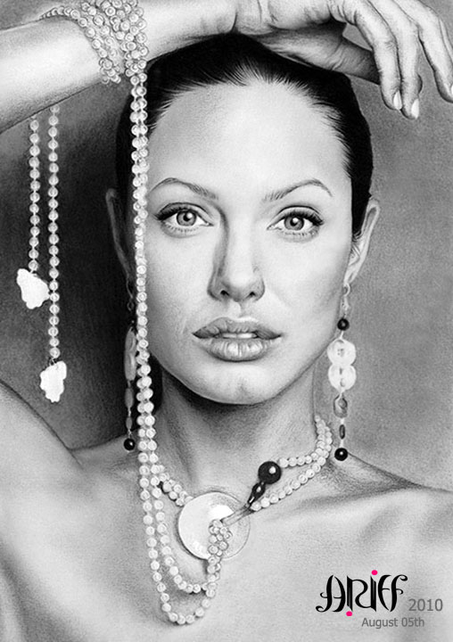 Angelina Jolie by riefra