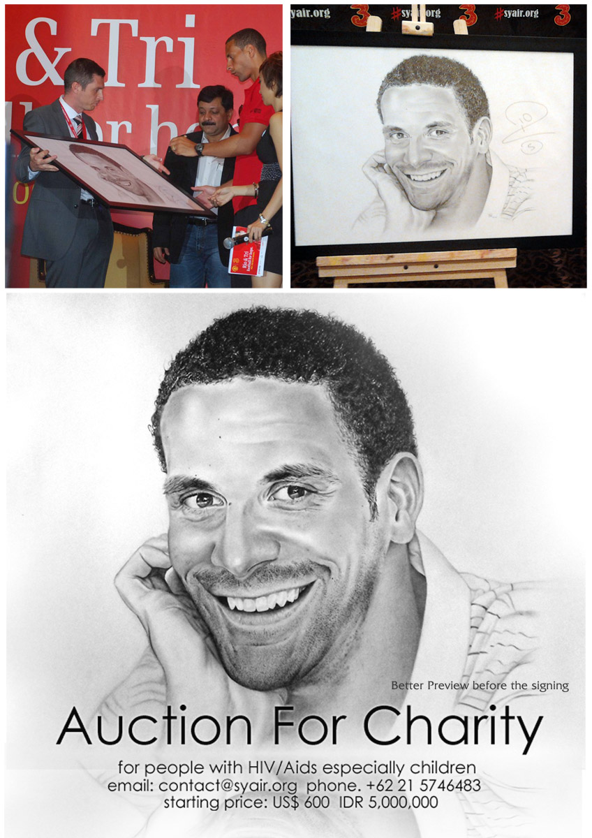 Charity Auction Rio Ferdinand by riefra