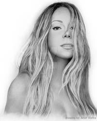 The Elusive Chanteuse Mariah Carey Drawing