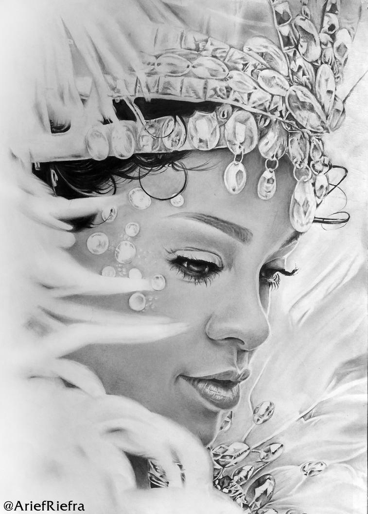 Rihanna by riefra