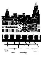 PEEPING TRAIN / TRANSIT-TEES T-Shirt - Jan 2013