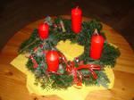 Advent wreath by Felicias