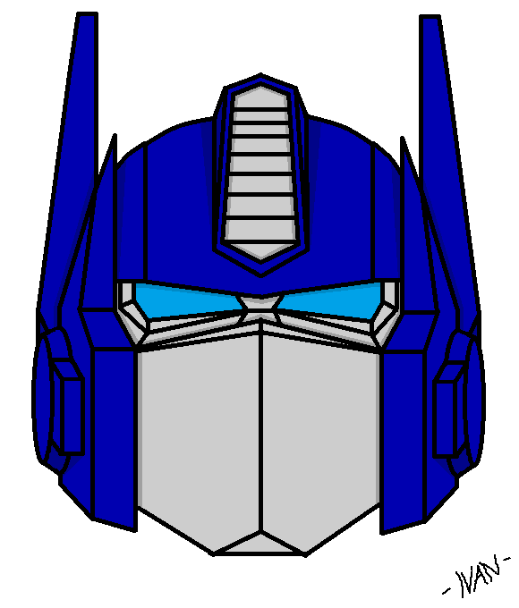 The Transformers - Optimus Prime's Head 1.0 by IVAN430 on ...  The Transformer...