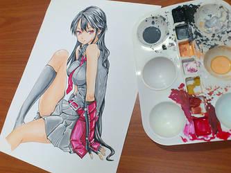 Akame by AlexArtwork