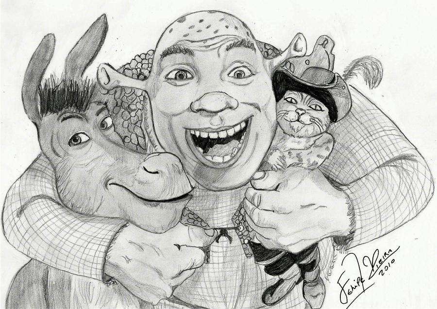 Shrek Forever by feliperatinho
