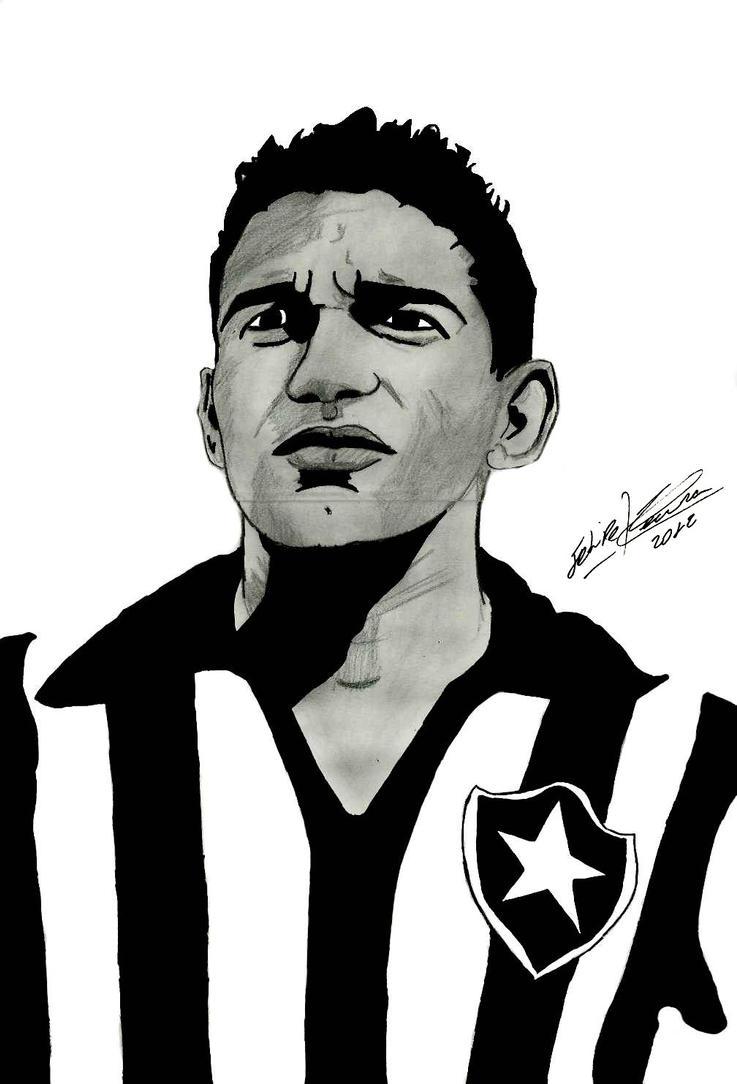 Garrincha by feliperatinho on DeviantArt