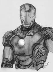 Iron Man by feliperatinho