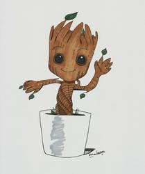 Groot by feliperatinho
