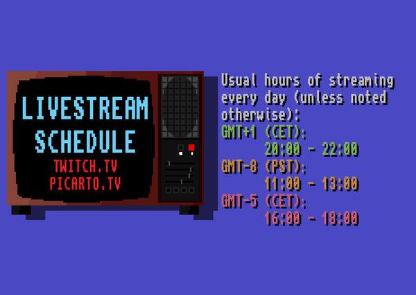 Livestream announcements