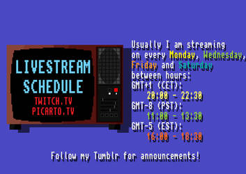 Livestream announcements by doktorno
