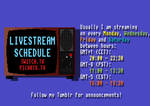 Livestream announcements by doktorno