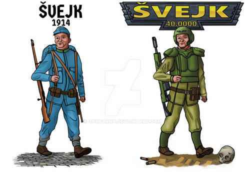 The Good Soldier Svejk Marches On