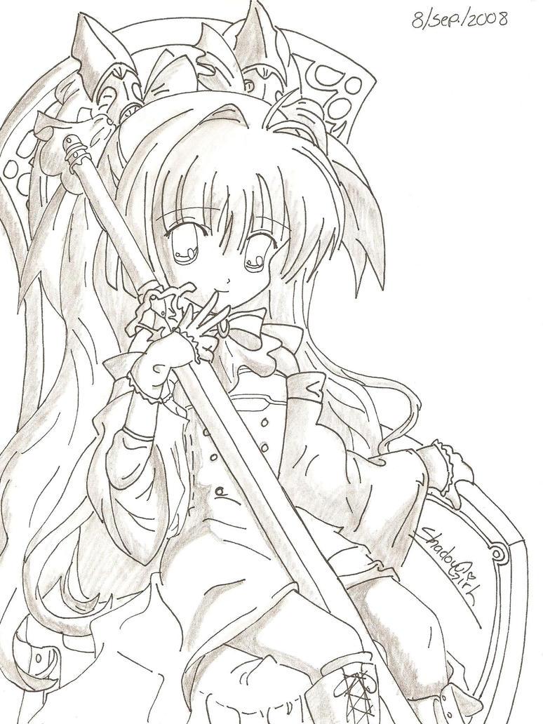 Perfecto Lindos Personajes De Anime Para Colorear Fotos - Dibujos ...