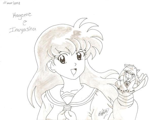 Aome Inuyasha Para Dibujar Imagui