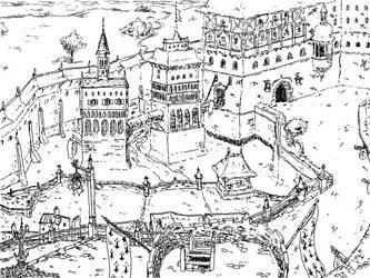Vue de ville by Azevarley
