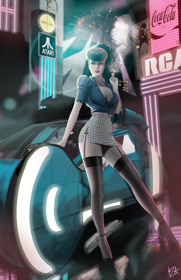 Blade Runner-Rachel