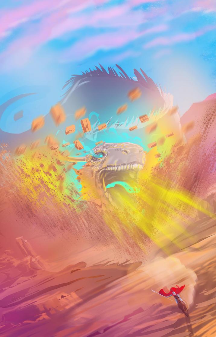 Dragon 2 by AlexAmezcua