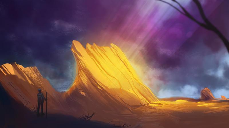 Intense Light Canyon by AlexAmezcua
