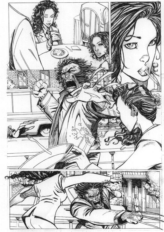 wolverine vs. wonderwoman pg2 by AlexAmezcua