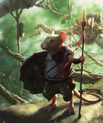 Guardian of SummerHall by StuHarrington