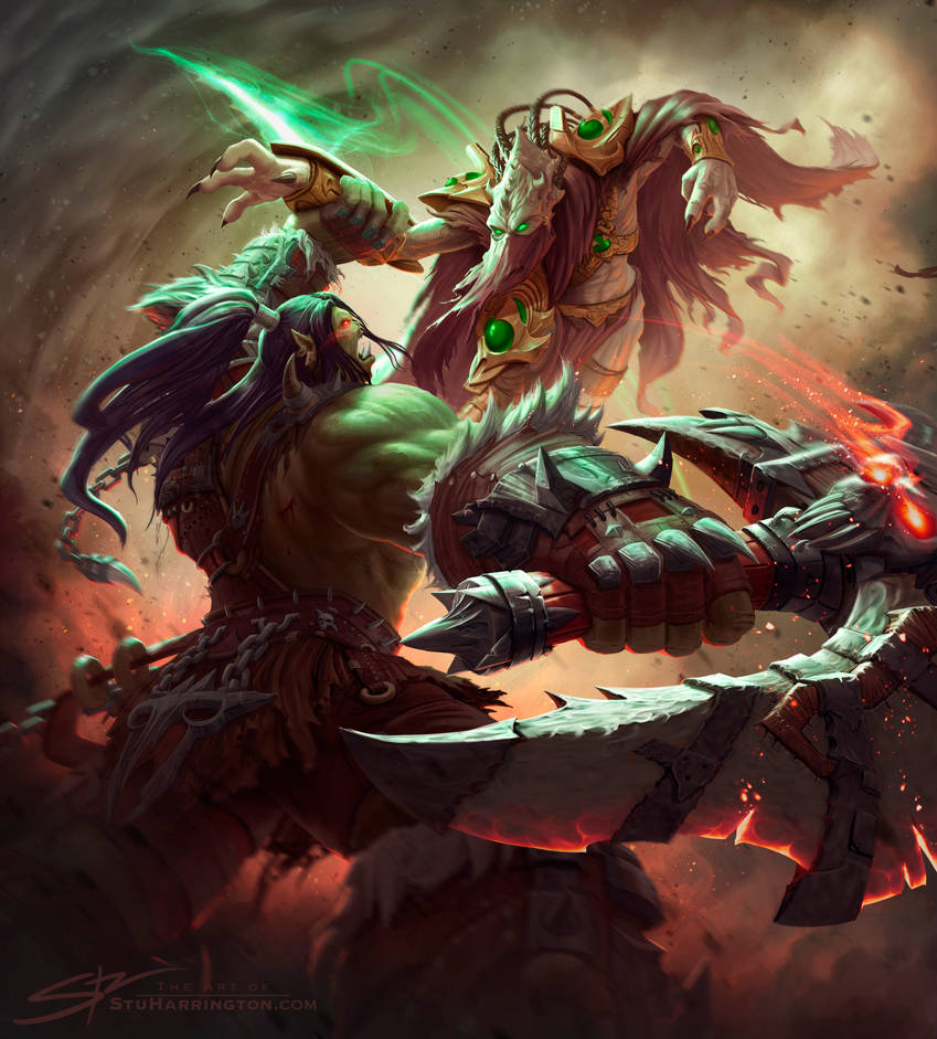 A Titan's Duel by StuHarrington