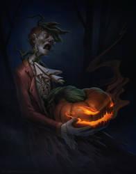 Stingy Jack o' the Lantern by StuHarrington