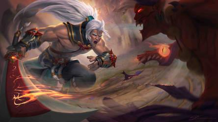 Demon Hunter Zhen by StuHarrington