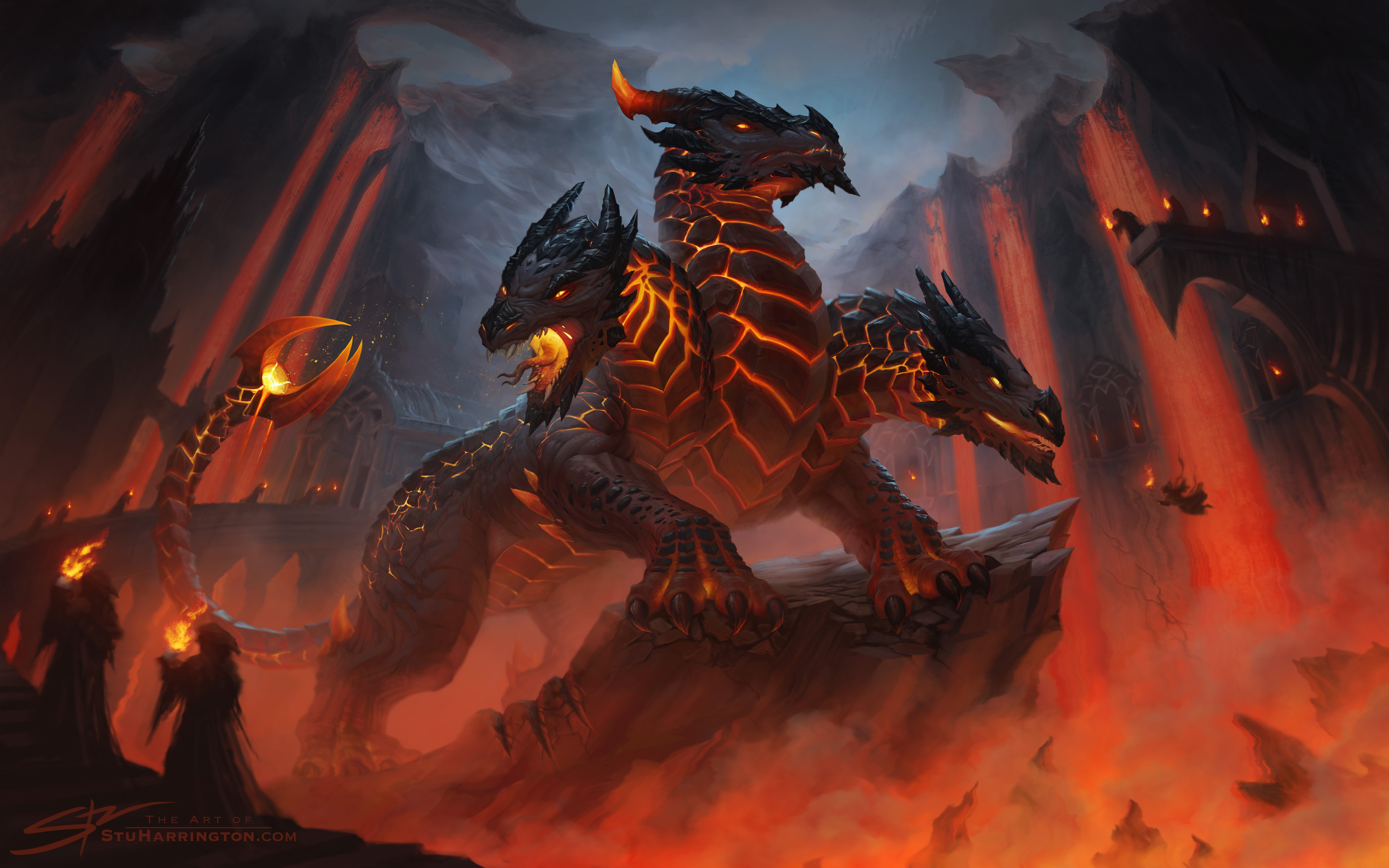 The Cult  of the Elder Dragon by StuHarrington
