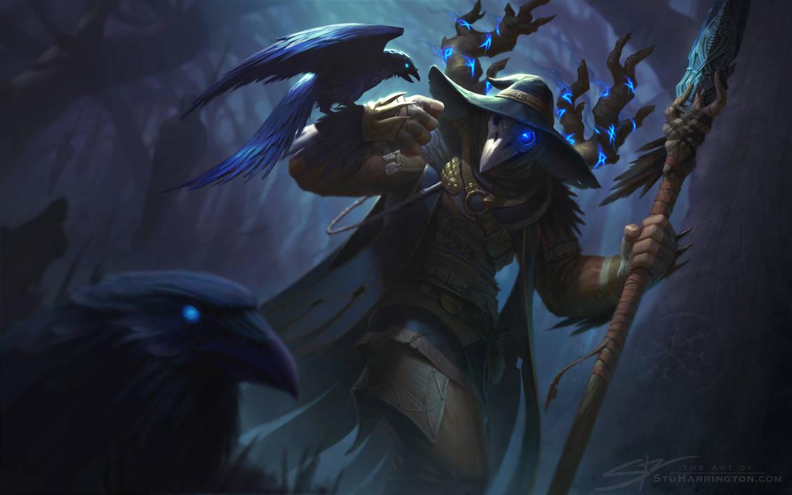 Odin Raven Warlock by StuHarrington