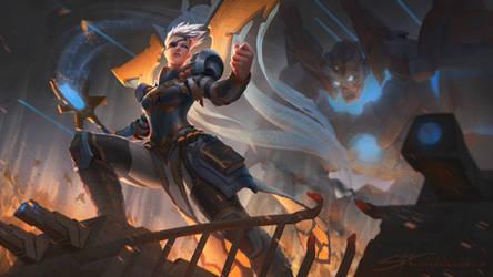 The Battle Priestess Hera