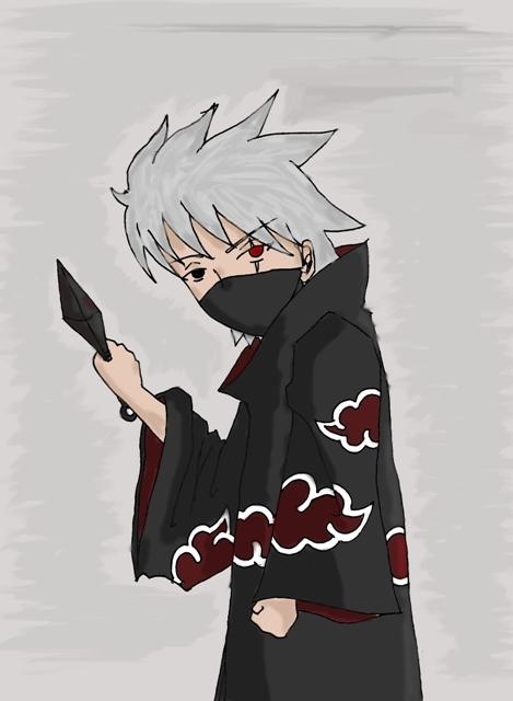 Akatsuki :Kakashi: oO by xBlackGurlx