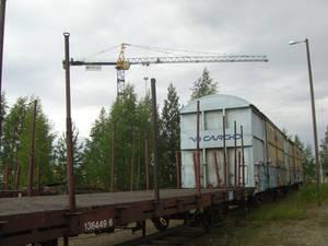 Cargo train in Joensuu / Hupsu junakuva