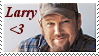 Larry The Cable Guy Stamp by AbbieGoth