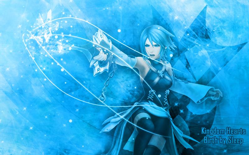 Aqua Kingdom Hearts Wallpaper Aqua -kingdom hearts: bbs- bg