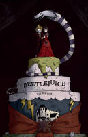 Beetlejuice Movie Poster by maha-kun