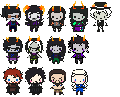 _TinyCutieFriends'Icons__ by RobicTheEscapist