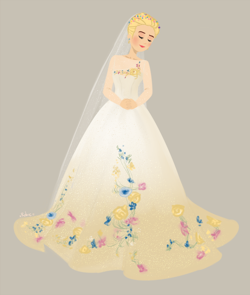 _WeddingDress!Cinderella_ by RobicTheEscapist