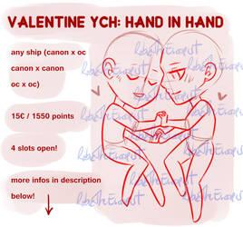 _Valentine YCH-HAND IN HAND: OPEN_
