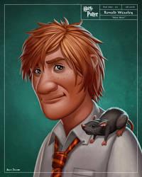 Ronald Weasley by benscott81