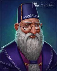 Albus Dumbledore by benscott81
