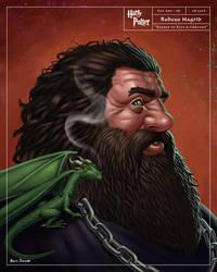 Rubeus Hagrid by benscott81