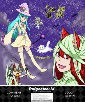 Paigeeworld Halloween Contest Entry