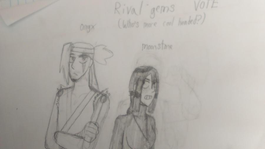 Rival gems vote who is more calm? by TrebleXPokemon