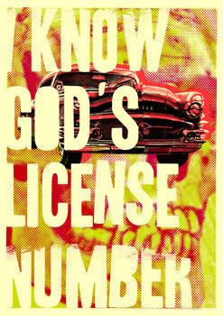 God's license number