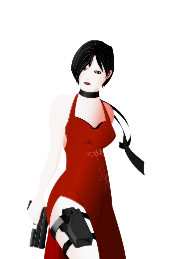 Ada Wong fan art by fReAkYfReAkYfRaNk