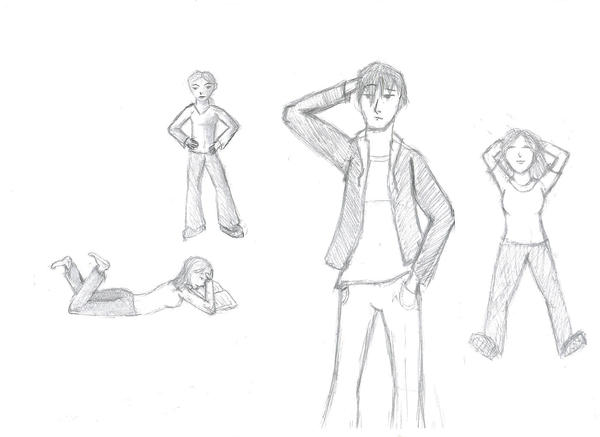 learning to draw body language by fionola on deviantart