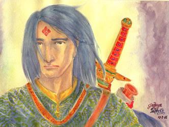 Jedoya Islenth: Sacred Guardian by RinoaDestiny