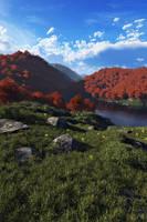 Rocky meadow v2 by villekroger
