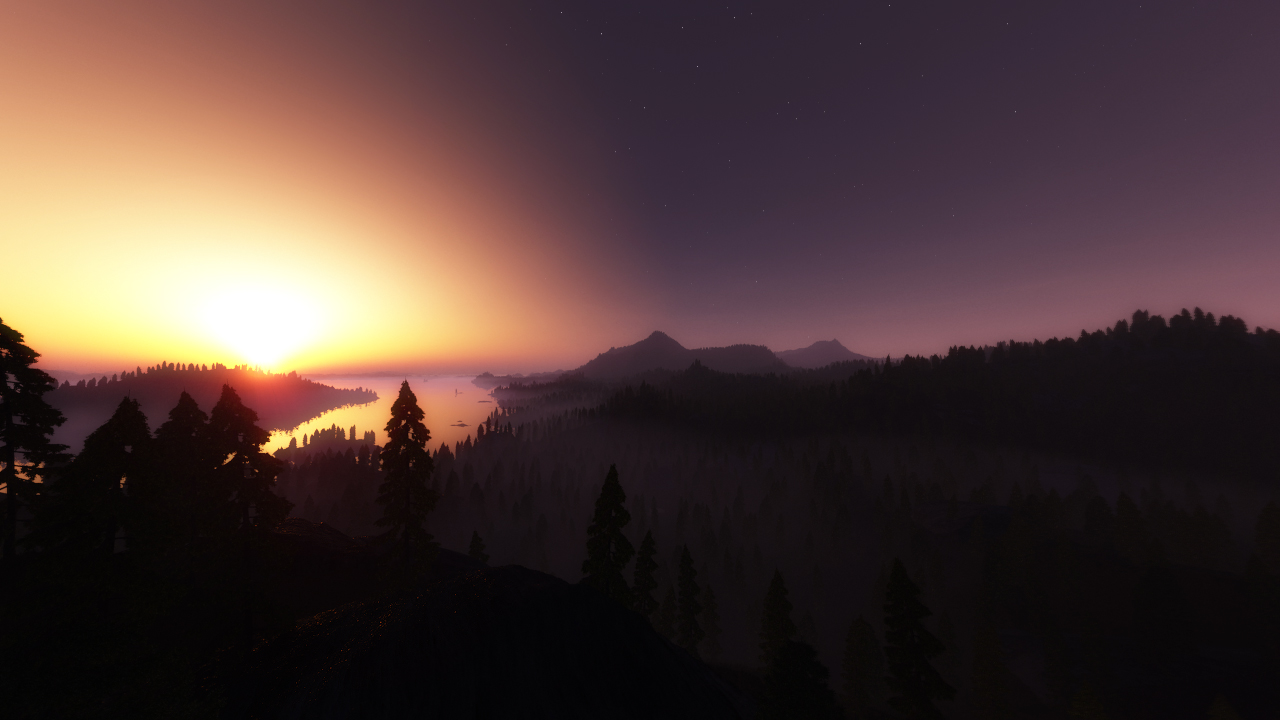 The midnight sun by villekroger